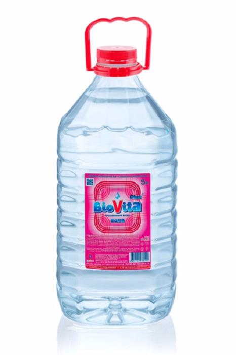 Вода питьевая минеральная BioVita Plus, 5л