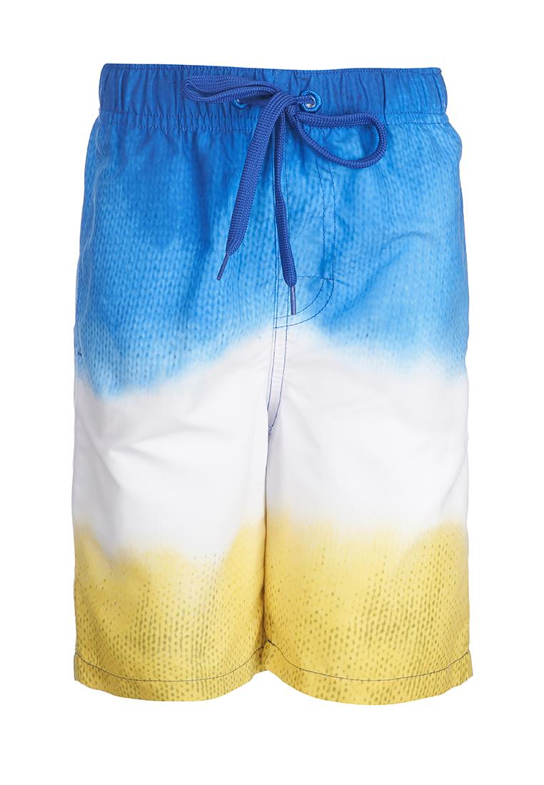 Купить Шорты купальные OLDOS Моррис для мальчика, Журавлик, Россия, Мульти, 122