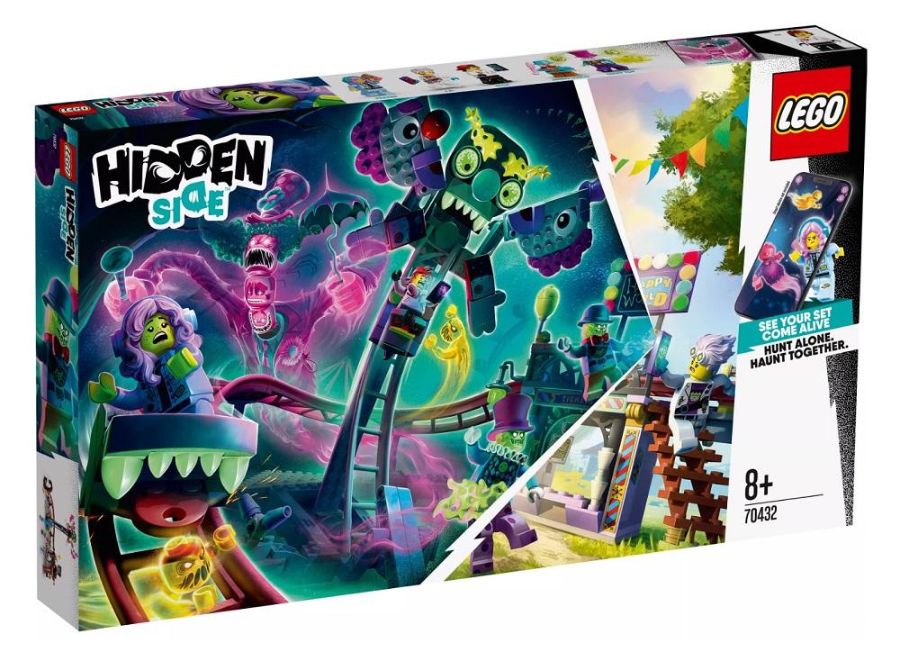 """Конструктор LEGO Hidden Side 70432 """"Призрачная ярмарка"""", 466 деталей фото"""