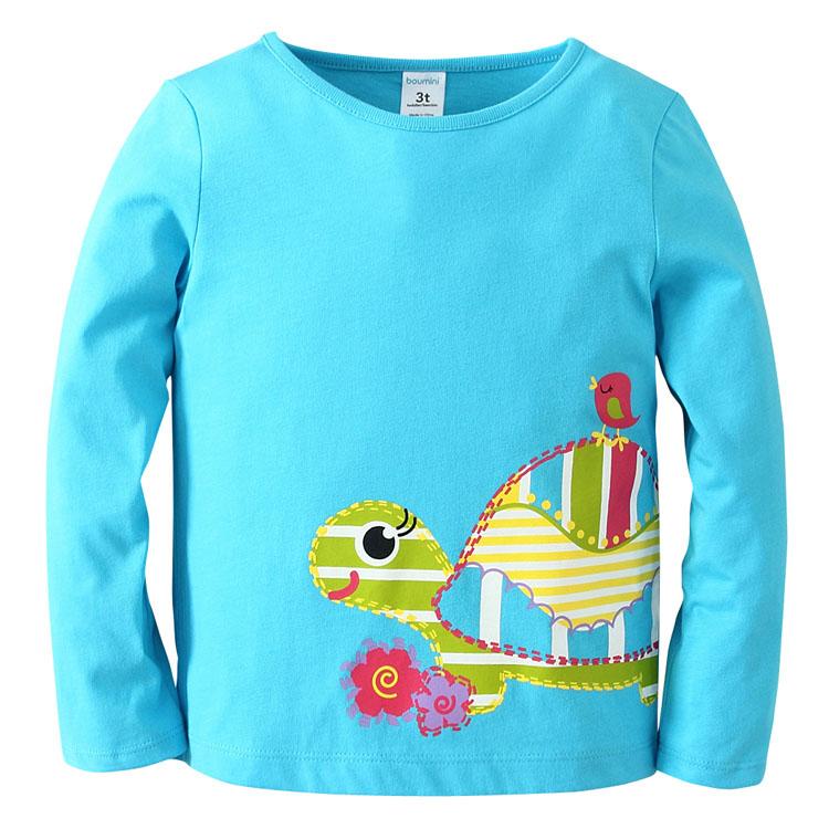 Купить Джемпер для девочки Boumini Turtle, Bembi, Украина, Голубой, 80