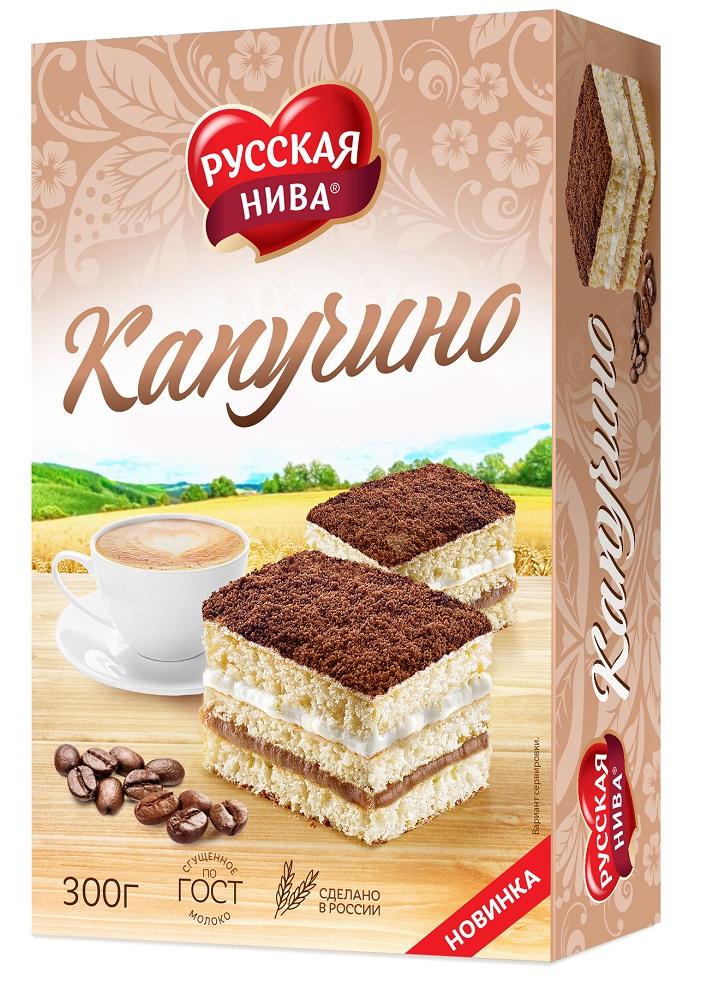 """Торт Русская Нива """"Капучино"""", 300гр"""