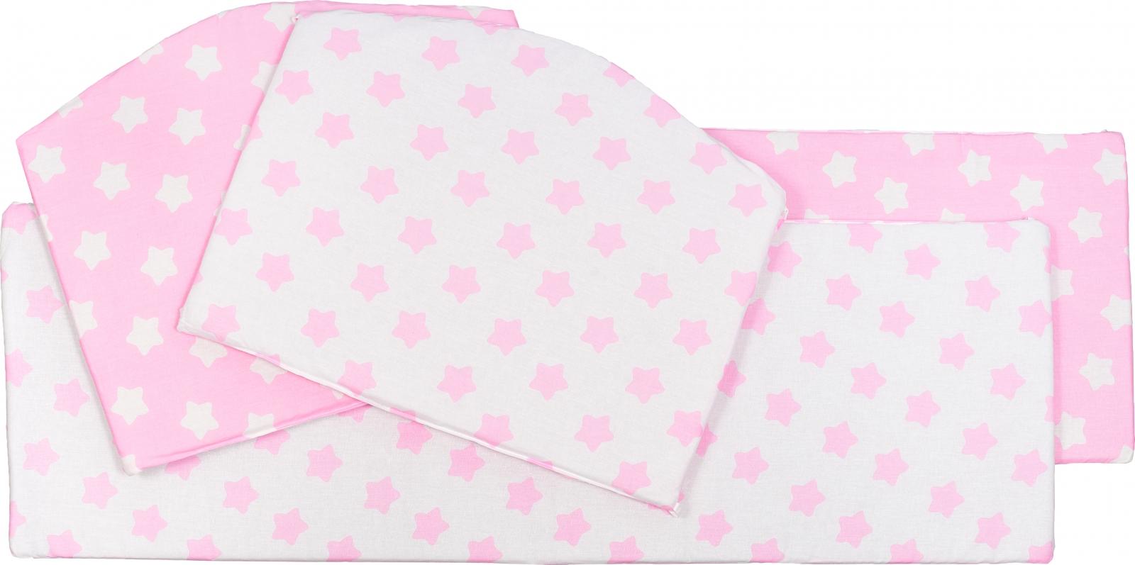 Бортики Sweet Baby Stelle Rosa, 4 части