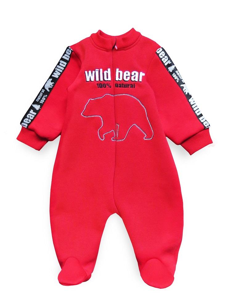 Купить Комбинезон Persona Mini Wild Bear , с вышивкой, красный, CS Medica, Россия, Красный, 62