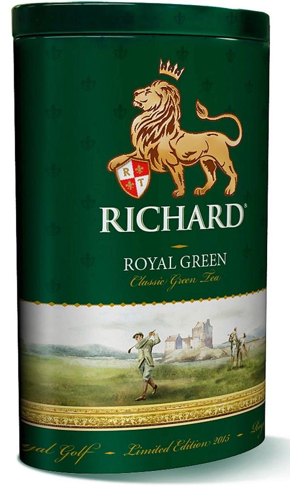 Купить Чай зеленый Richard Royal Green, 80гр, Россия