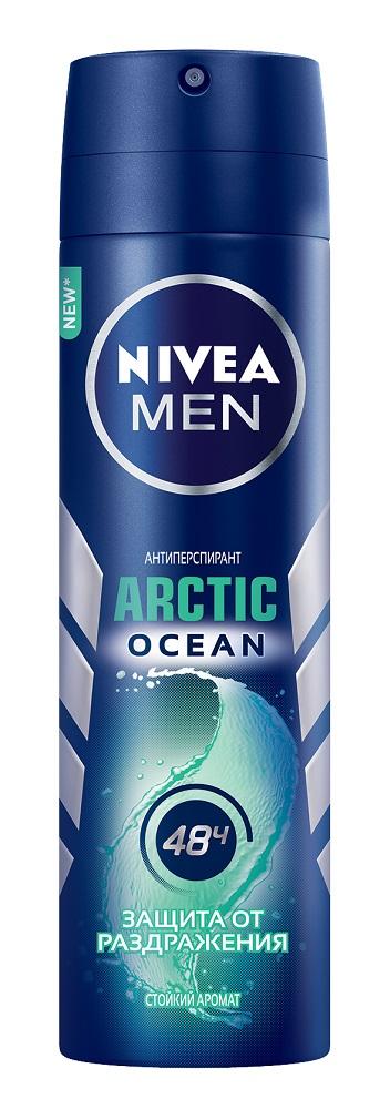 Купить Антиперспирант-спрей Nivea Men Arctic Ocean, 150мл, Германия