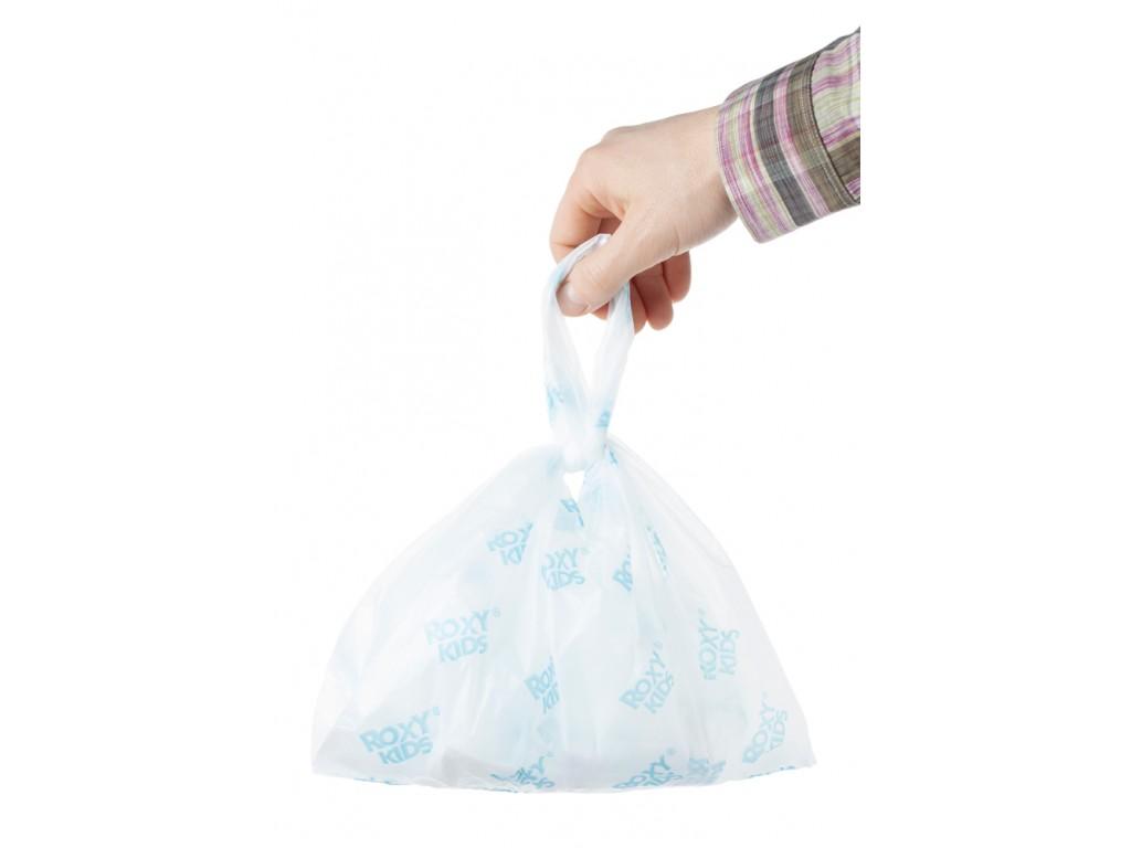 Купить Одноразовые сменные пакеты Roxy Kids для дорожных горшков, 25шт., Россия