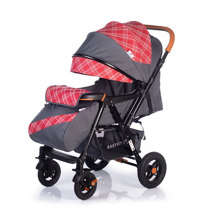 Купить Прогулочная коляска Babyhit Sense Plus с перекидной ручкой (цвета в ассорт.), BabyZz, Китай, Красный
