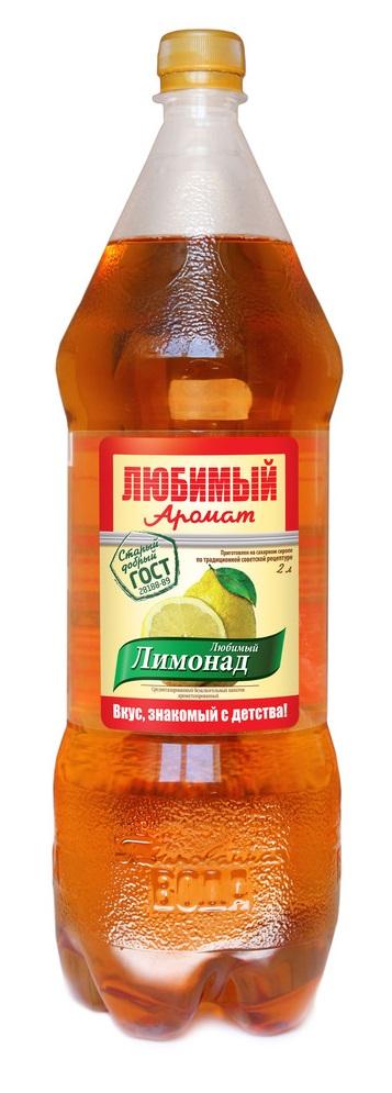 """Лимонад Любимый Аромат """"Лимонад"""", 2л"""