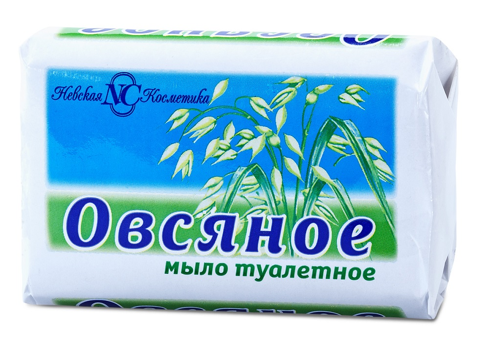 Купить Мыло туалетное Невская Косметика Овсяное , 90гр, Россия