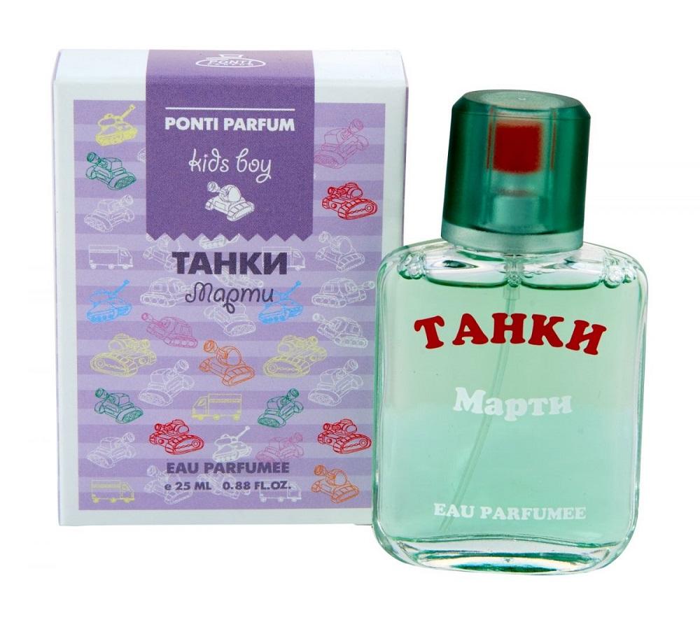 """Душистая вода Ponti Parfum """"Танки"""" Марти, 25мл фото"""