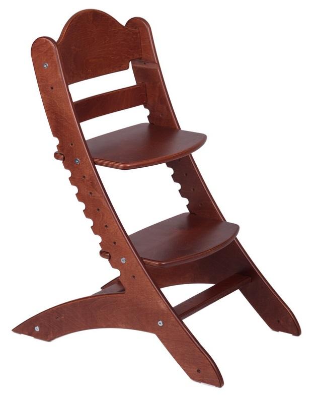 Растущий стул «Два кота» М1, красное дерево