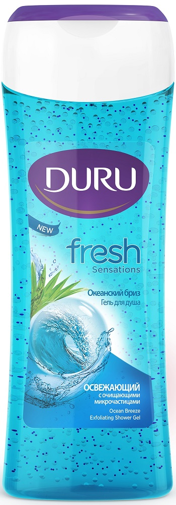 "Гель для душа Duru Fresh Sensations ""Океанский бриз"", 250мл фото"