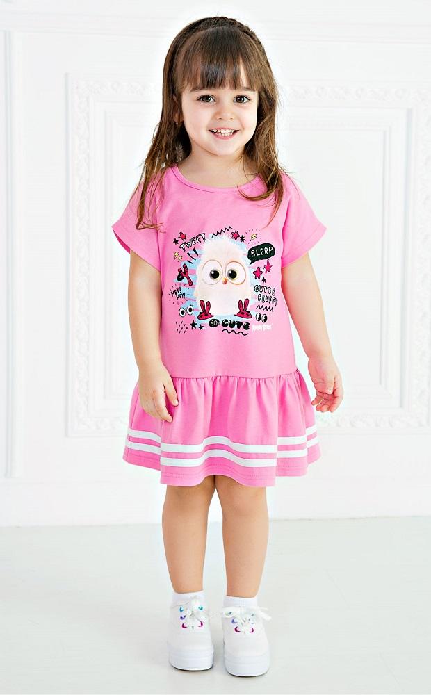 Купить Платье Bossa Nova Angry Birds , розовое, Hasbro, США, Розовый, 80