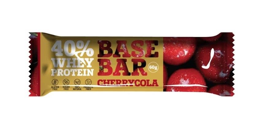 Батончик Base Bar со вкусом вишня-кола, 60гр