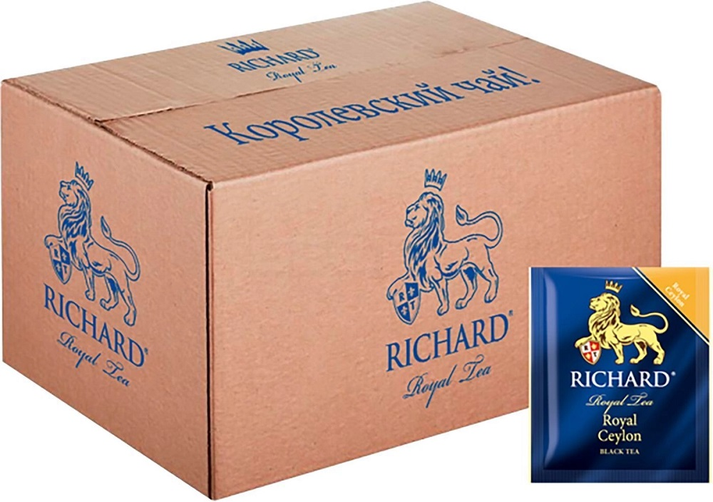 Купить Чай черный Richard Royal Ceylon, 200 пакетиков, Россия