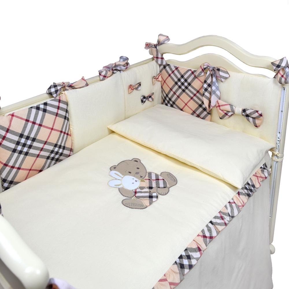"""Комплект в кроватку Эдельвейс """"Nice Frends"""", 4 предмета фото"""